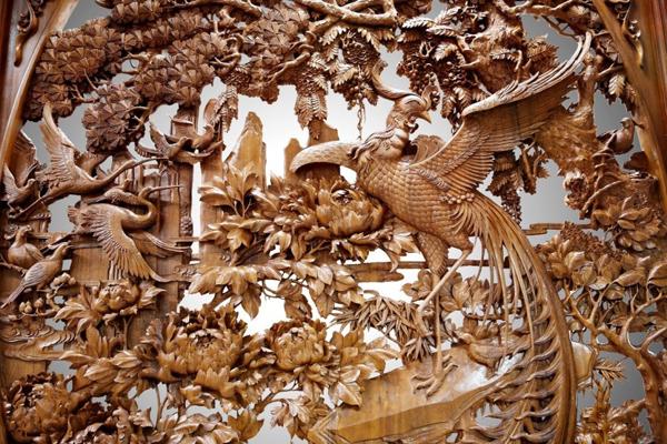 g20杭州峰会上的东阳木雕