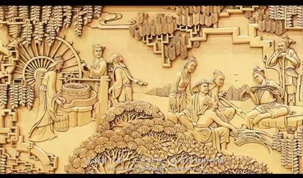 """东阳木雕呼唤新时代的""""工匠精神""""——落地屏风《鲁班的故事》里的那些"""